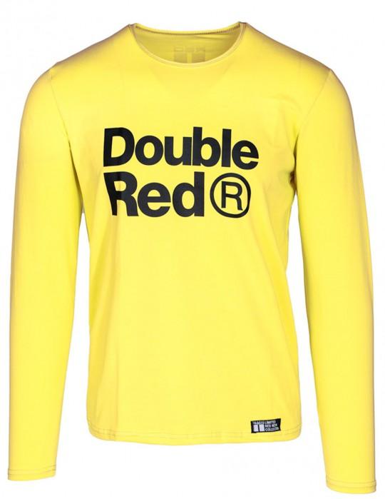 Red Neon Long Sleeve T-Shirt Yellow