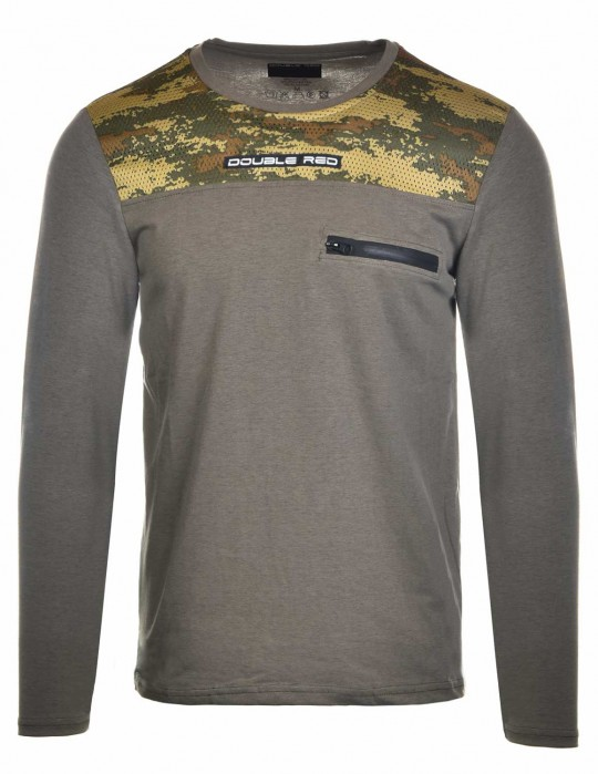 Hero Long Sleeve Camo Edition Grey